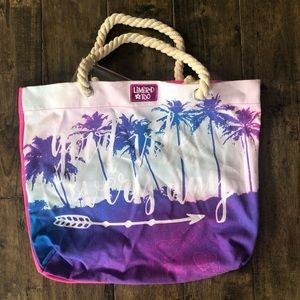Limited Too canvas tote